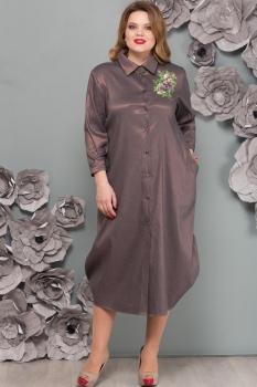 Платье Надин-Н 1493 серо-сиреневый