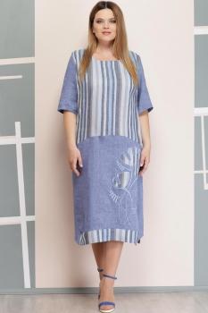 Платье Надин-Н 1516 голубой