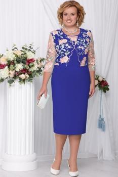 Платье Ninele 2102-9 Василек