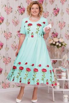 Платье Ninele 2103 мята