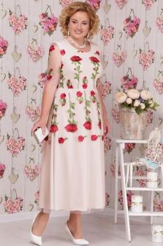 Платье Ninele 2104-1 бежевый