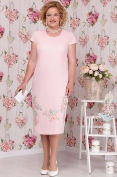 Платье Ninele 2107 пудра