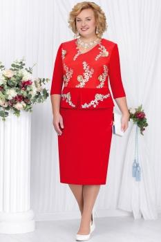 Платье Ninele 2112-2 красный