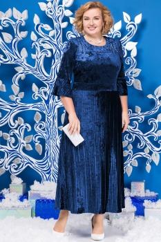 Платье Ninele 2125 васильковый