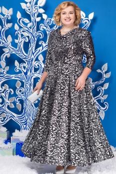Платье Ninele 2129-1 перья