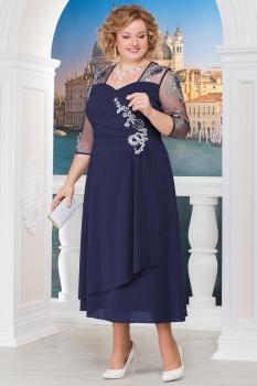 Платье Ninele 2134 синий