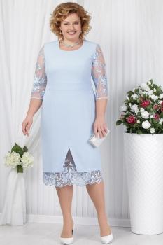 Платье Ninele 2145 голубой