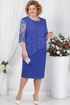 Платье Ninele 2148-2 васильковый