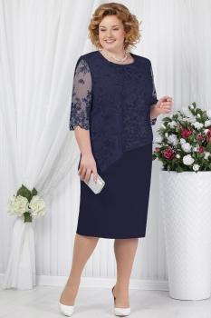 Платье Ninele 2148-3 синий