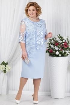 Платье Ninele 2148 голубой