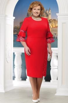 Платье Ninele 2150-1 красный