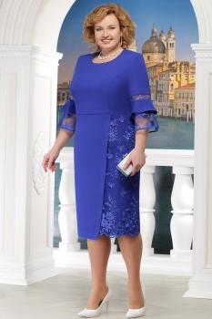 Платье Ninele 2150-2 васильковый