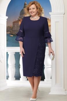 Платье Ninele 2150 синий