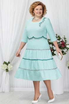 Платье Ninele 2153 светло-зеленый