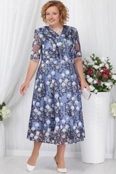 Платье Ninele 2155-1 голубой