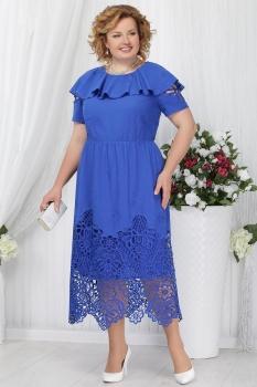 Платье Ninele 2157-1 васильковый