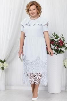Платье Ninele 2157-2 белый