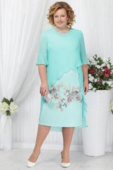 Платье Ninele 2159 светло-зеленый