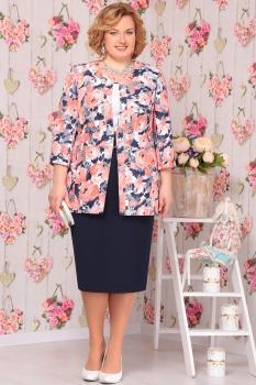 Комплект Ninele 5440-1 цветы+синий