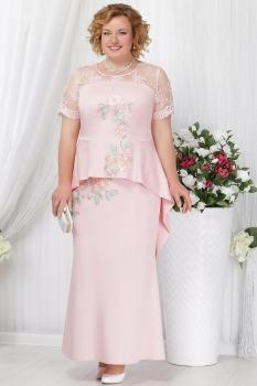Платье Ninele 5536-1 пудра