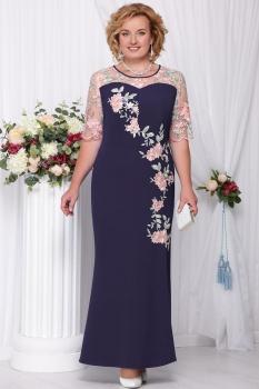 Платье Ninele 5543-7 син