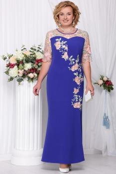 Платье Ninele 5543-8 васильковый