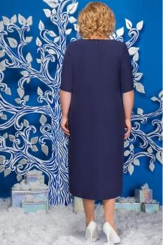 Платье Ninele 5565-2 темно-синий - фото 2