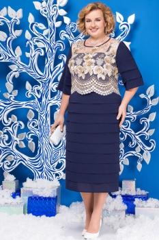 Платье Ninele 5566-2 синий