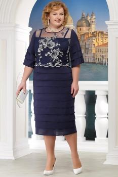 Платье Ninele 5566-3 синий