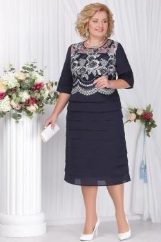 Платье Ninele 5566-4 темно-синий