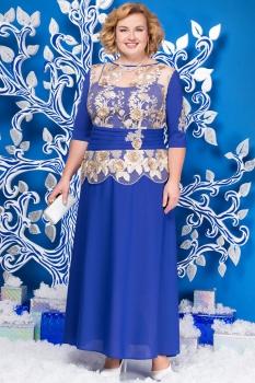 Платье Ninele 5567-2 васильковый