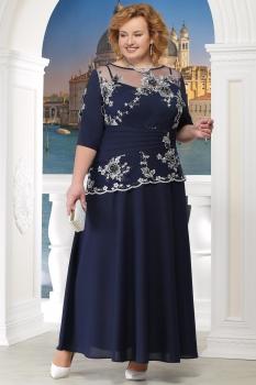 Платье Ninele 5567-3 синий
