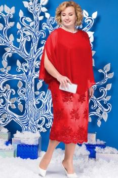 Платье Ninele 5585-1 красный