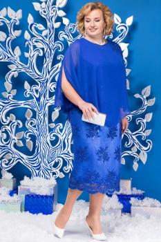 Платье Ninele 5585 васильковый