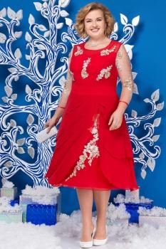 Платье Ninele 5586-2 красный