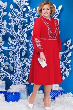Платье Ninele 5590 красный
