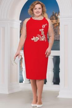 Платье Ninele 5598 красный