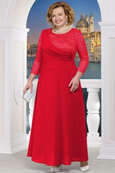 Платье Ninele 5605 красный