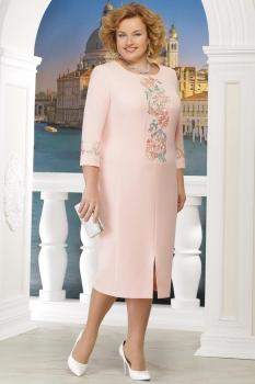 Платье Ninele 5608-4 пудра