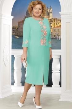 Платье Ninele 5608 светло-зеленый