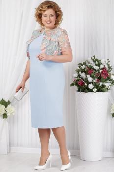 Платье Ninele 5621-1 голубой