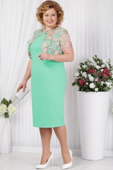 Платье Ninele 5621-2 светло-зеленый