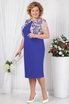 Платье Ninele 5621-4 васильковый