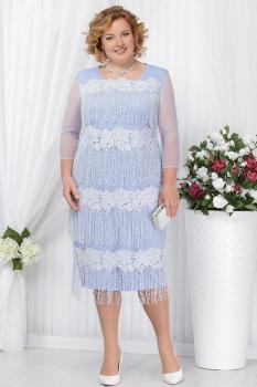 Платье Ninele 5622-1 голубой