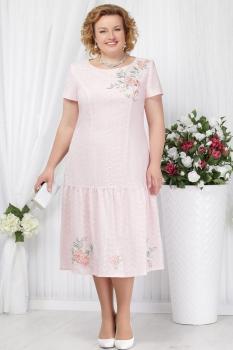 Платье Ninele 5623-1 пудра