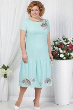 Платье Ninele 5623 светло-зеленый
