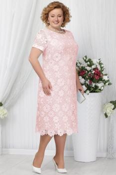 Платье Ninele 5629-1 пудра