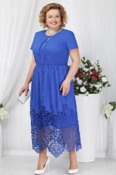 Платье Ninele 5631 васильковый