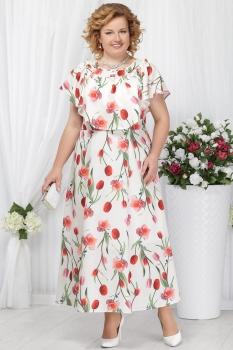 Платье Ninele 5635 тюльпаны