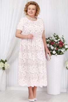 Платье Ninele 5637 белый